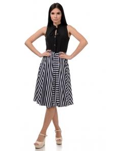 Платье «Тиара», р-ры S-ХL, арт.403 черный
