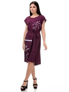 Платье «Энджи», р-ры S-ХL, арт.404 бордо