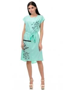 Платье «Энджи», р-ры S-ХL, арт.404 мята