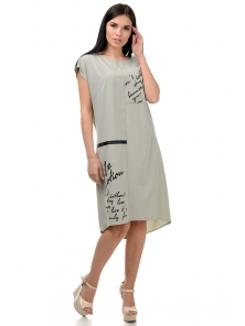 Платье «Энджи», р-ры S-ХL, арт.404 оливка