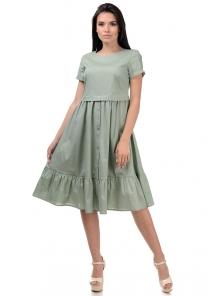 Платье «Анфиса», р-ры S-ХL, арт.405 оливка