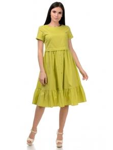 Платье «Анфиса», р-ры S-ХL, арт.405 яблоко