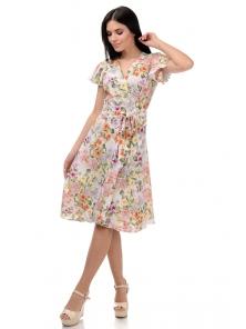 Платье «Катарина», р-ры S-ХL, арт.406 петунья