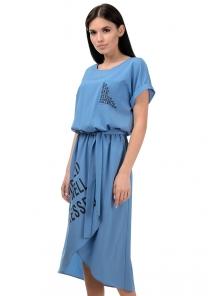 Платье «Гилда», р-ры S-L, арт.407 джинс
