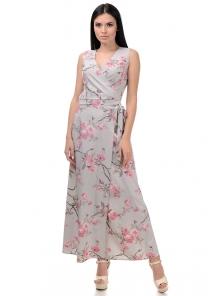 Топ и юбка «Вики», р-ры S-L, арт.409 сакура серый