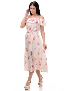 Платье «Рози», р-ры S-L, арт.414 розочка