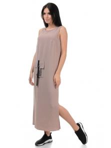 Платье «Денна», р-ры S-ХL, арт.415 беж