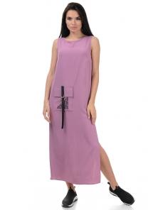 Платье «Денна», р-ры S-ХL, арт.415 сирень
