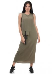 Платье «Денна», р-ры S-ХL, арт.415 хаки