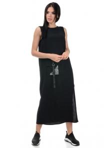 Платье «Денна», р-ры S-ХL, арт.415 черный