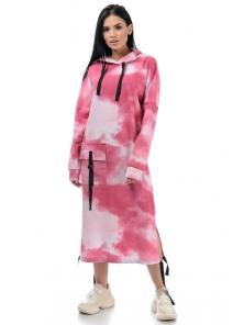 Платье «Фрида», р-ры S-ХL, арт.426 малина