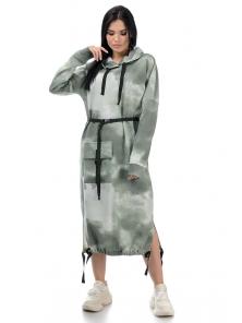 Платье «Фрида», р-ры S-ХL, арт.426 хаки