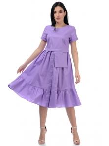 Платье «Соло», р-ры S-ХL, арт.437 лаванда