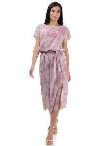 Платье «Эллис», р-ры S-ХL, арт.448 розовый