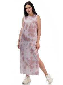 Платье «Дикси», р-ры S-ХL, арт.450 пудра