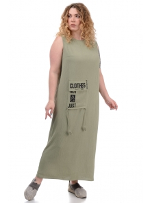 Платье «Дикси plus», р-ры ХХL-ХХХХL, арт.452 оливка