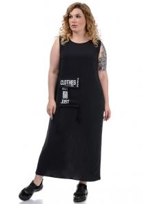 Платье «Дикси plus», р-ры ХХL-ХХХХL, арт.452 черный