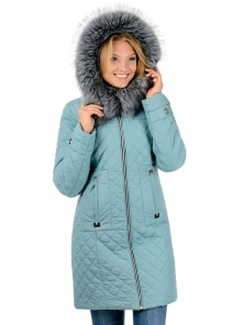 "Зимнее пальто""Виктория"",арт.№190, 42-52 мята"