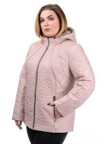 """Женская демисезонная куртка """"Кэйси"""", р-ры 50-58, №210 беж"""
