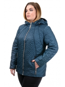 """Женская демисезонная куртка """"Кэйси"""", р-ры 50-58, №210 м.волна"""