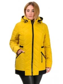 Демисезонная куртка «Норма», р-ры 50-58, №213 горчица