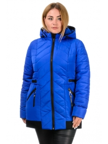 Демисезонная куртка «Норма», р-ры 50-58, №213 электрик