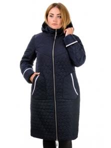 Пальто зимнее «Юта», р-ры 50-60, №217 т.синий