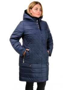 Зимняя куртка «Оманда», р-ры 50-60, №218 т.синий