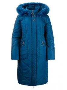 Зимнее пальто «Люсия», р-ры 50-58, №215 м.волна