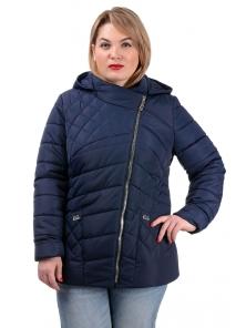 Демисезонная куртка «Тайра»,50-56, арт.252_т.синий