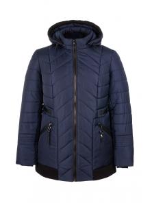 Демисезонная куртка «Норма», р-ры 50-58, №213 т.синий