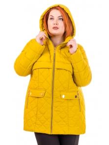 """Женская демисезонная куртка """"Лайма"""" №158, р-ры 46-54"""