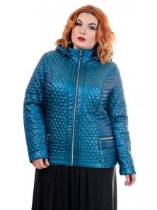 """Женская демисезонная куртка """"Жаклин"""" №167, р-ры 48-54"""