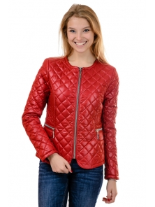 """Демисезонная куртка """"Мэри"""", арт.№178,  44-54 красный"""
