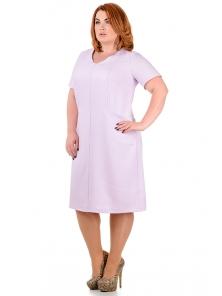 "Женское платье ""Корнелия"", размеры 50-58,арт.264 сирень"