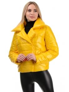 Демисезонная куртка «Глория», р-ры 42-46, №289 желтый