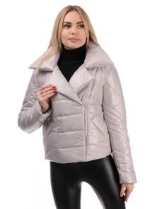 Демисезонная куртка «Глория», р-ры 42-46, №289 св.беж