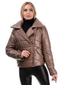Демисезонная куртка «Глория», р-ры 42-46, №289 орех