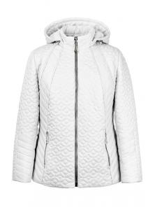 """Женская демисезонная куртка """"Кэйси"""" арт.№210, 50-58 белый"""