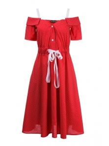 Платье «Марита», р-ры S-ХL, арт.420 красный