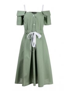 Платье «Марита», р-ры S-ХL, арт.420 оливка