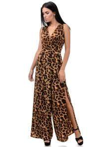 Комбинезон «Донна», р-ры XS-M, арт.385 леопард
