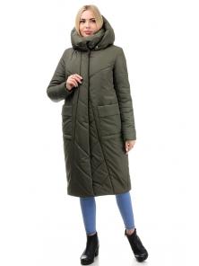 Пальто «Матильда», 44-50, арт.310 хаки