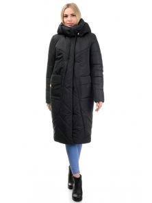 Пальто «Матильда», 44-50, арт.310 черный