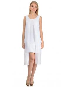 """Платье """"Ивона"""", р-ры S-L, арт. 334 белый"""