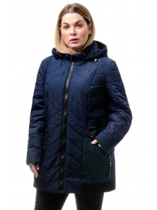 Куртка «Норма», 52-58, арт.242_т.синий