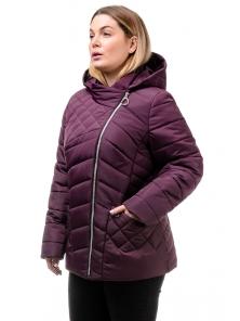Демисезонная куртка «Тайра»,50-56, арт.252_сангрия