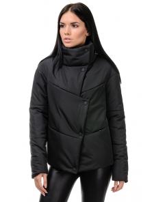 """Куртка """"Голди"""", 42-48, арт.253_черный"""