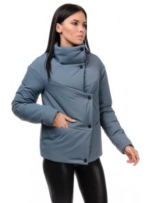 "Куртка ""Голди"", 42-48, арт.253_серый"