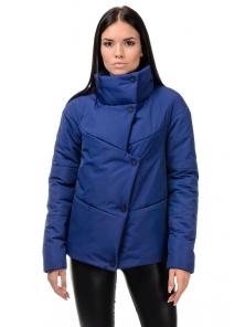 """Куртка """"Голди"""", 42-48, арт.253_синий"""